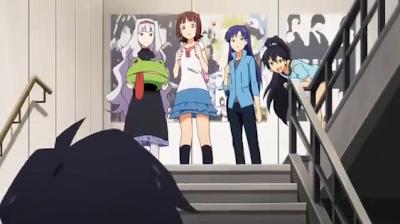 the idolmaster, idolmaster, episode 4, chihaya, chihaya kisaragi, takane, takane shijou, hibiki, hibiki ganaha, haruka, haruka amami, producer