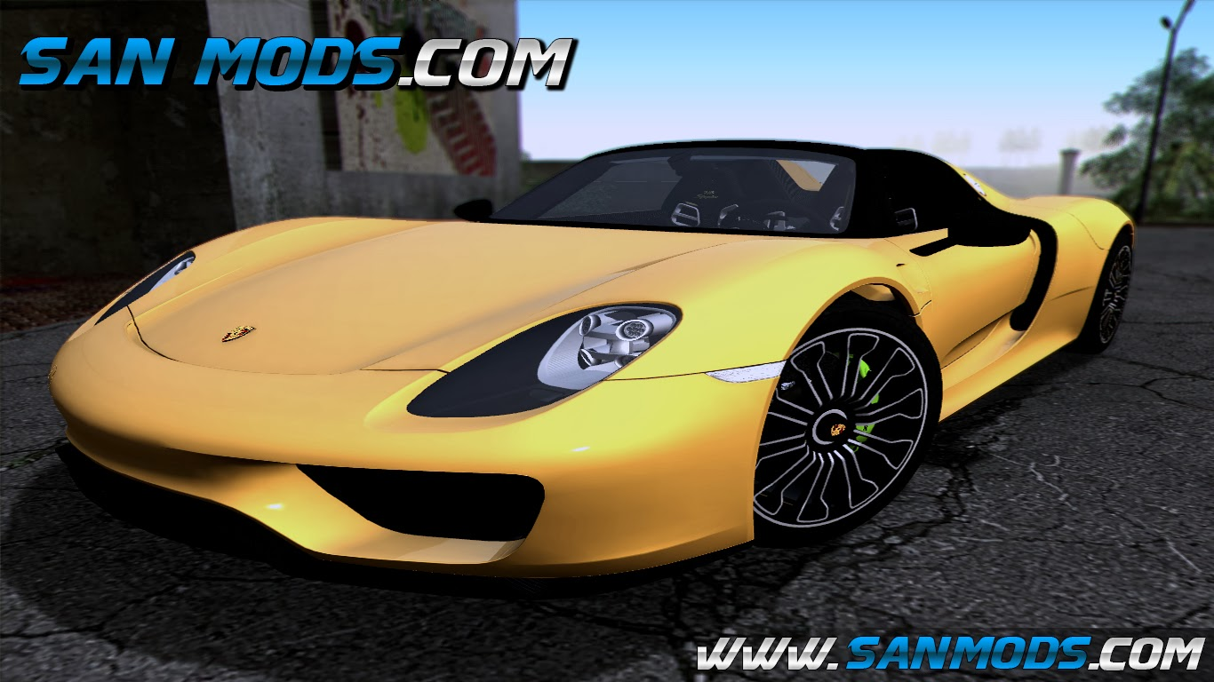 gta sa porsche 918 spyder 2014. Black Bedroom Furniture Sets. Home Design Ideas