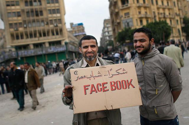 中東革命與facebook