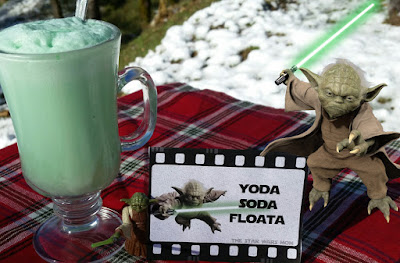 Yoda Soda Floata - Free Printable Party Drink Label