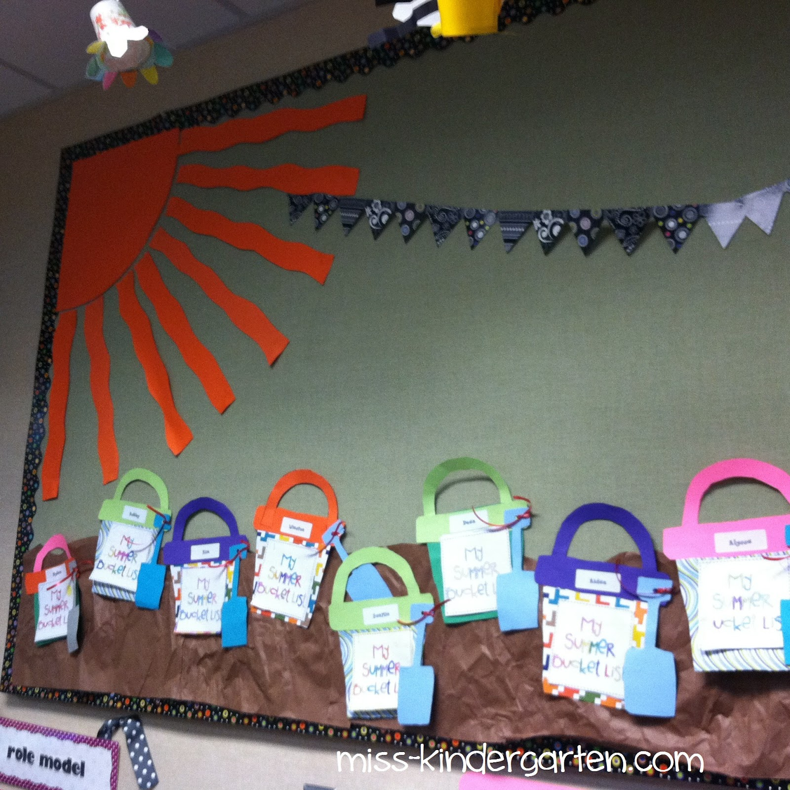 June Classroom Ideas ~ June miss kindergarten