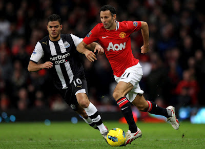 Manchester United meet Newcastle United in the third round