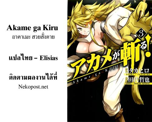 อ่านการ์ตูน Akame ga kiru 10 ภาพที่ 44