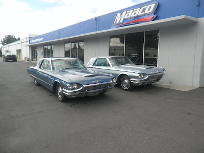 Customer's 1965 & Almost Everything's 1964 Thunderbirds