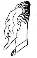 Caricatura de Ramón Arbó