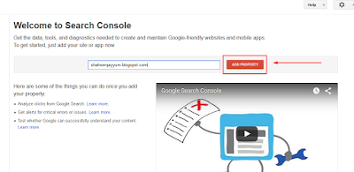 Submitting BlogSpot Sitemap to Search Console