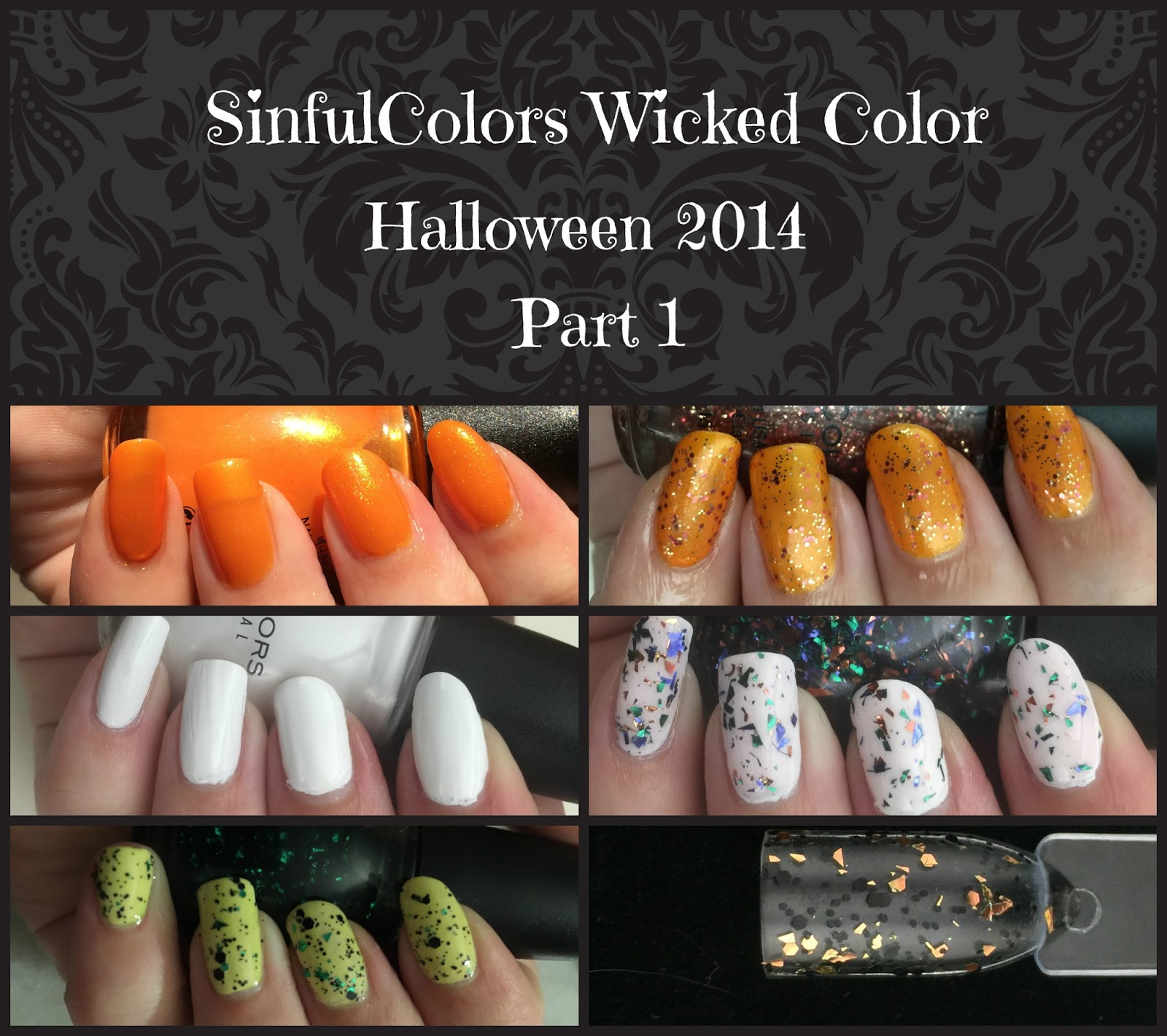 SinfulColors Halloween 2014 Wicked color