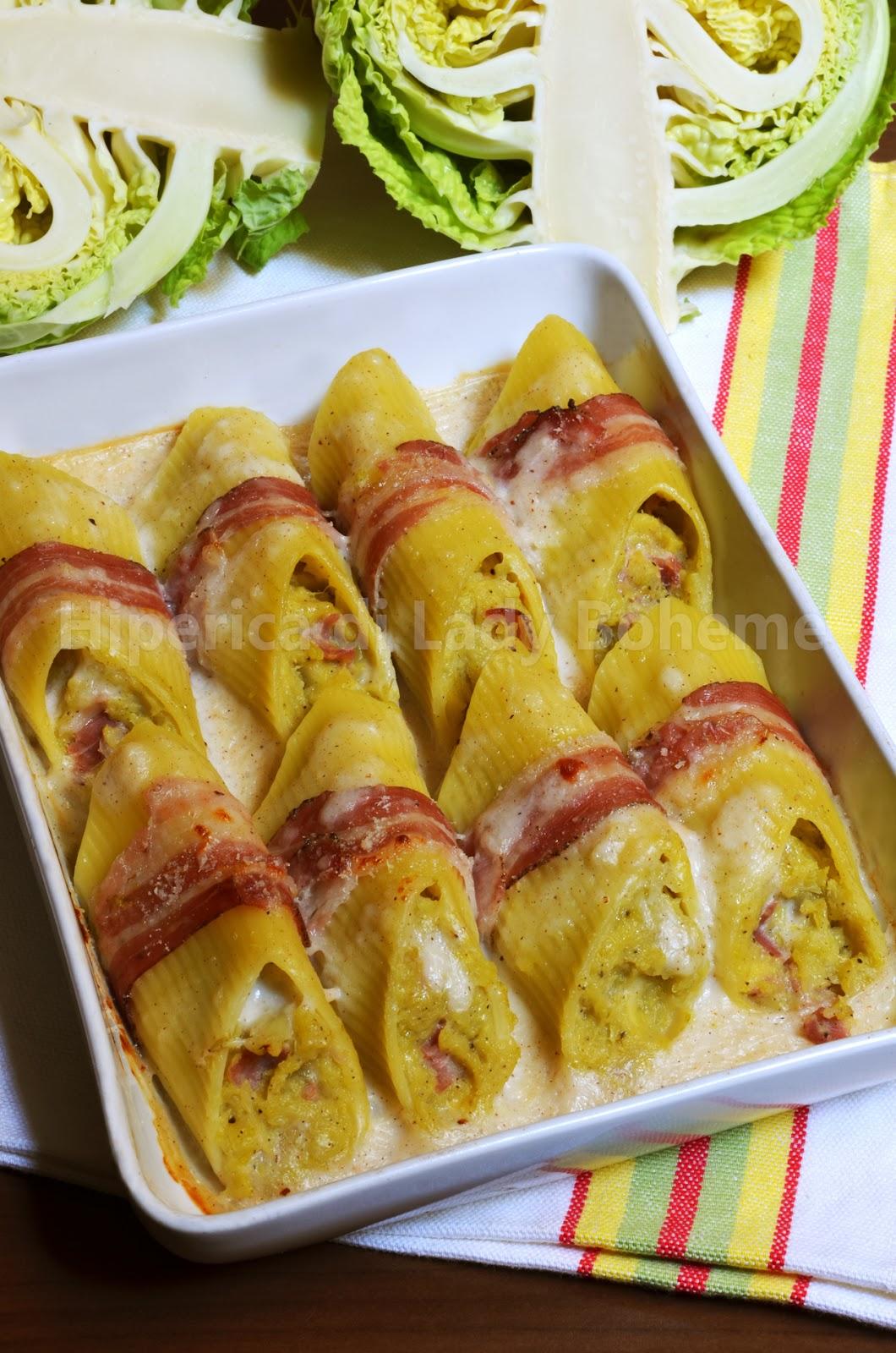 hiperica_lady_boheme_blog_di_cucina_ricette_gustose_facili_veloci_pennoni_ripieni_con_cavolo_verza_leerdammer_e_pancetta_2