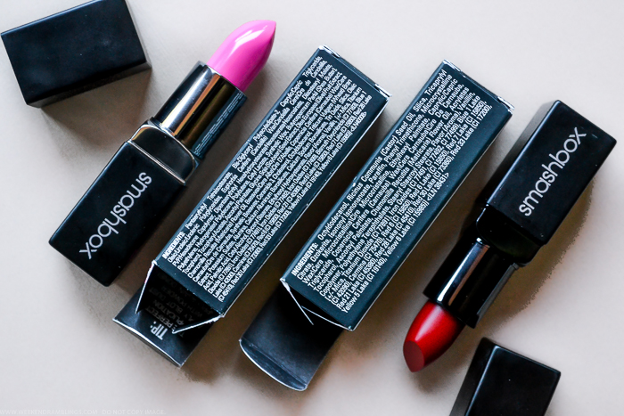 Smashbox Be Legendary Lipsticks - Infrared Matte Shock Me Pink Review Swatches Photos Ingredients