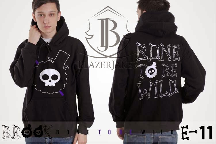 Jaket Anime One Piece - SK Brook 'Bone To Be Wild'