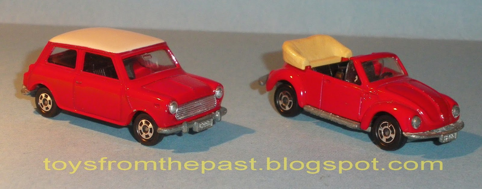 Toys from the Past   259 TOMICA     VOLKS WAGEN  BLMC MINI COOPER S