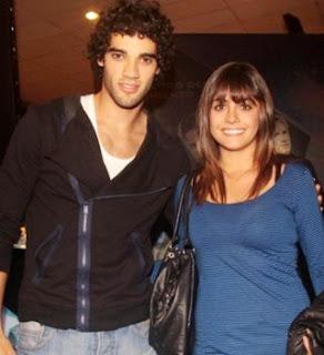 Guty Carrera con su ex pareja Valeria Bringas