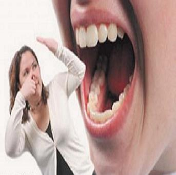 التخلص رائحة الفم الناتجه التدخين