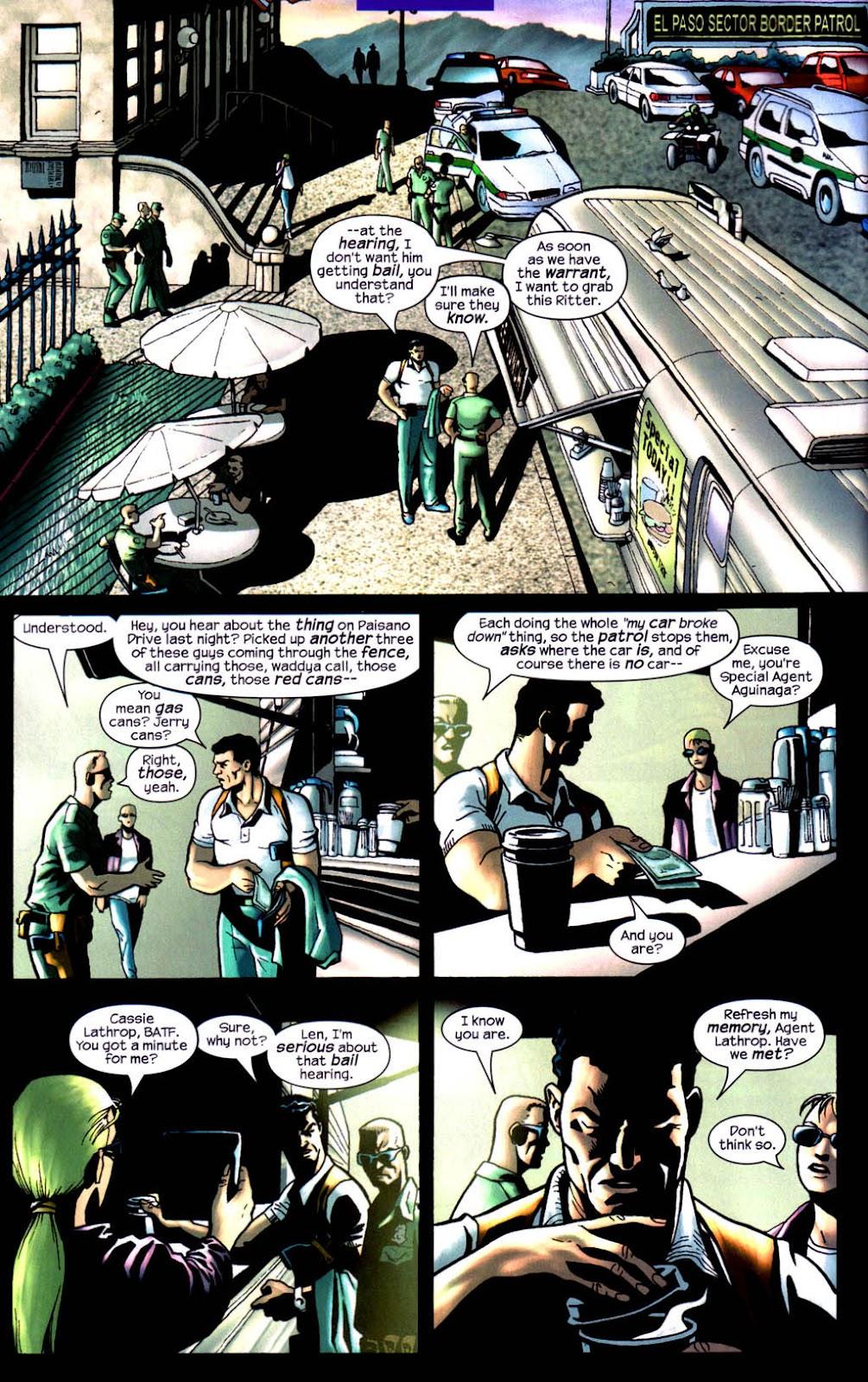 Read online Wolverine (2003) comic -  Issue #8 - 5