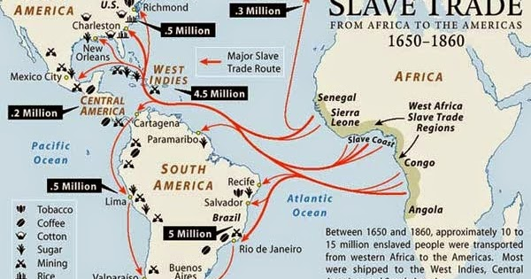 trans atlantic slave trade essays
