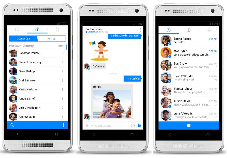 كيفية أستعمال الدردشة على فيس بوك بدون تحميل Facebook Messenger على الهاتف