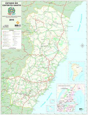Download - Mapas Rodoviários dos Estados do Sudeste