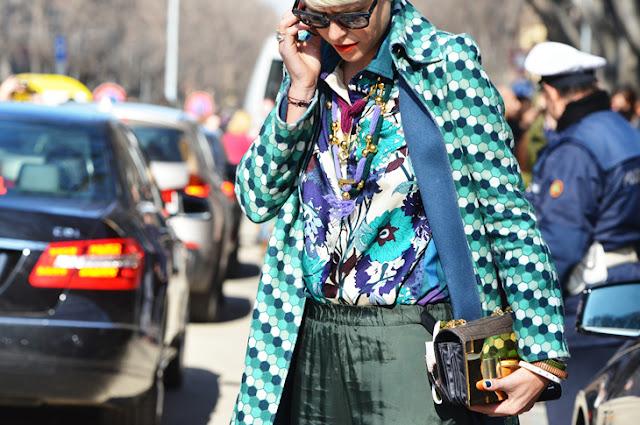 Mila Schon street style