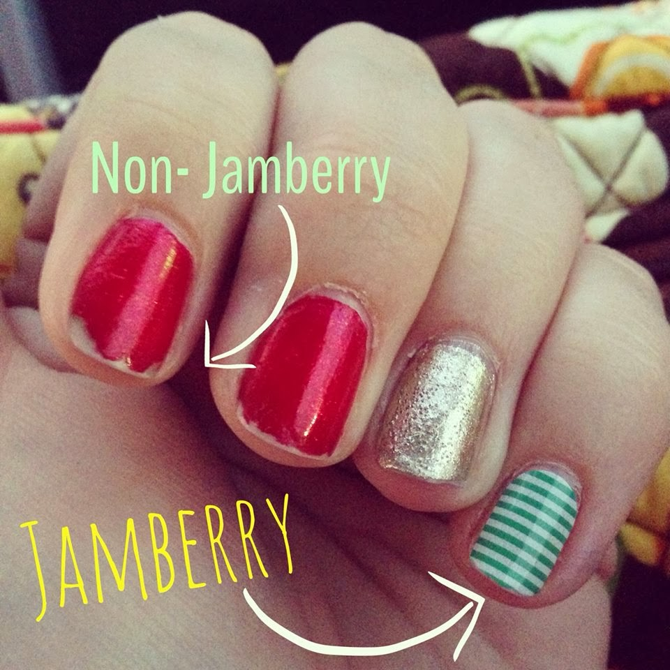 Just Keep Teaching: December Review: Jamberry Nails! {12.28.13}