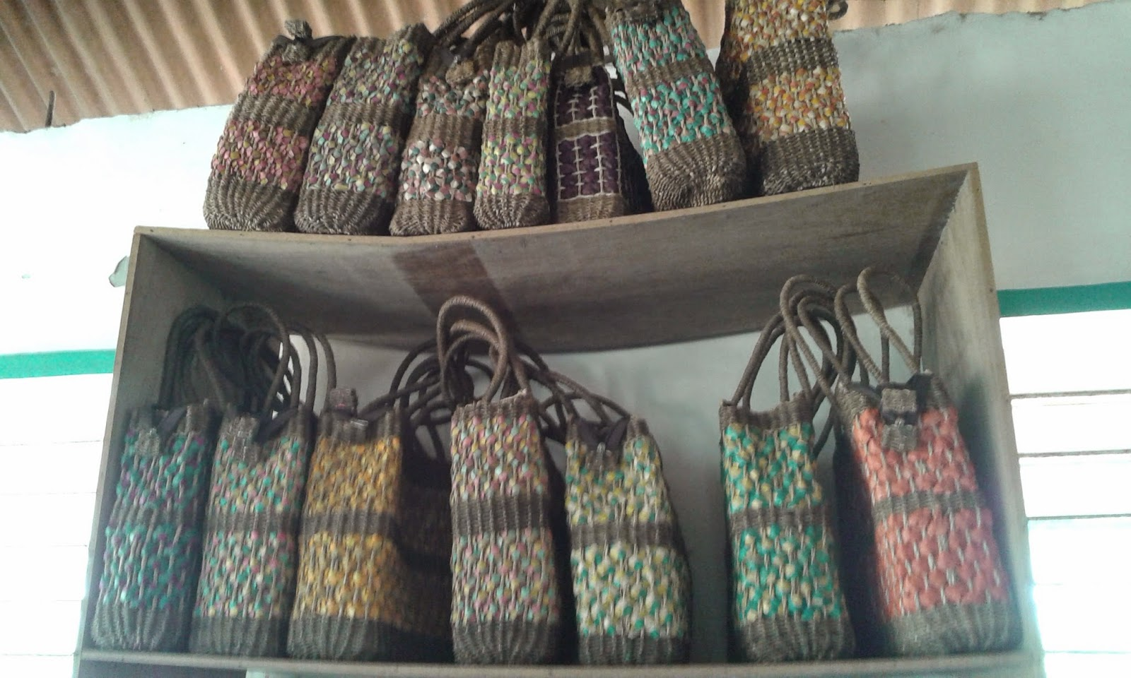 Foot And Fire Souvenirs From Pandan Antique Bariw Plant
