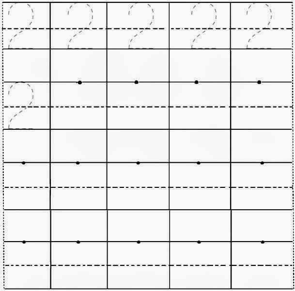 Handwriting Numbers Worksheet