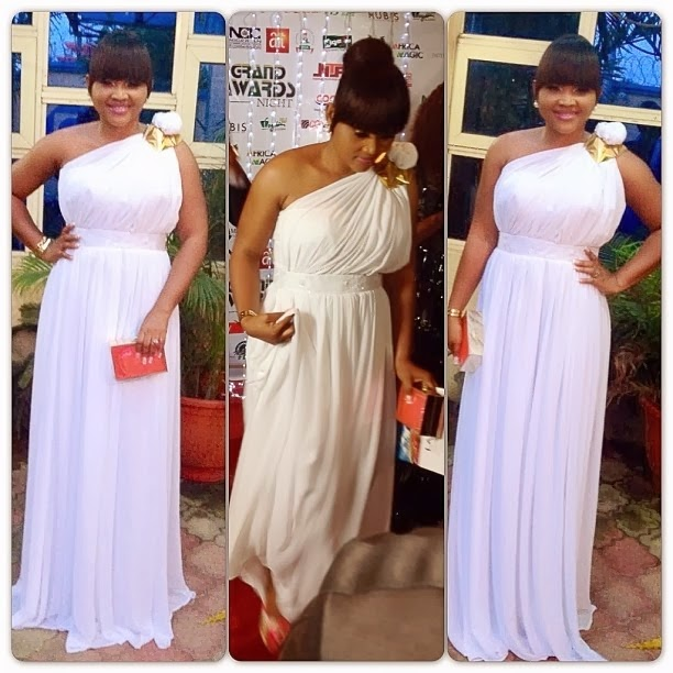 Actress Mercy Aigbe Shows Off Her Tempting Body