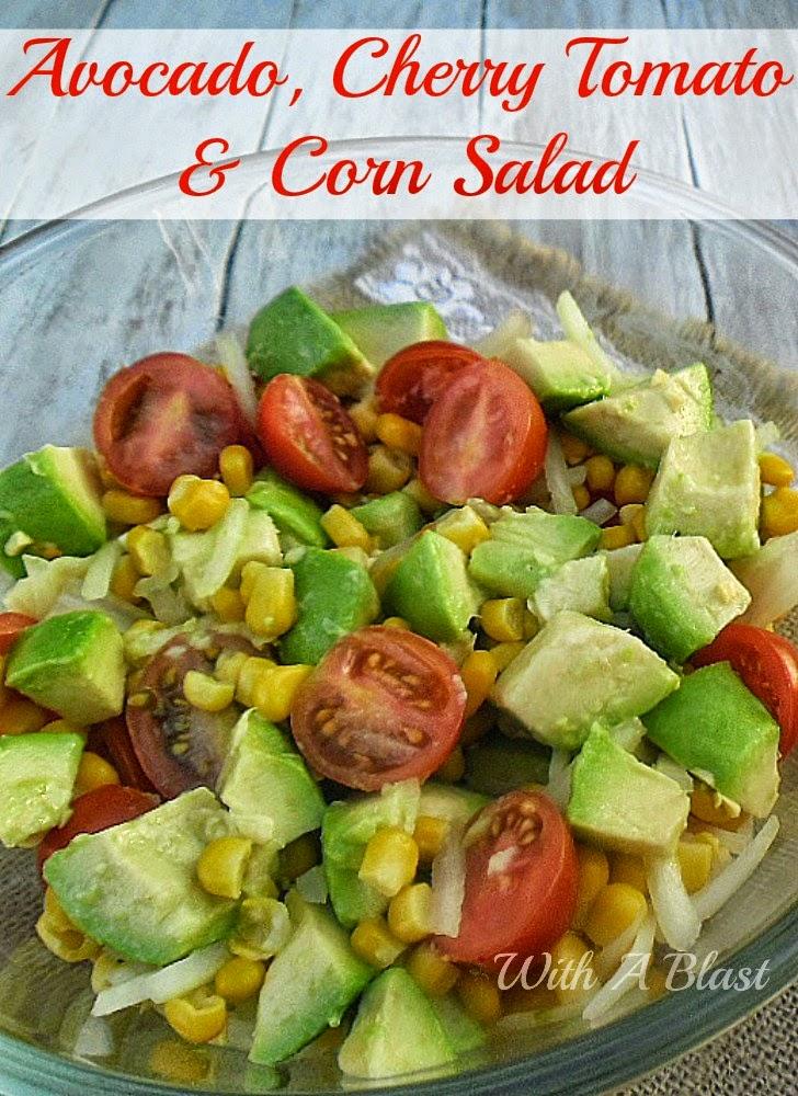 Avocado, Cherry Tomato & Corn Salad