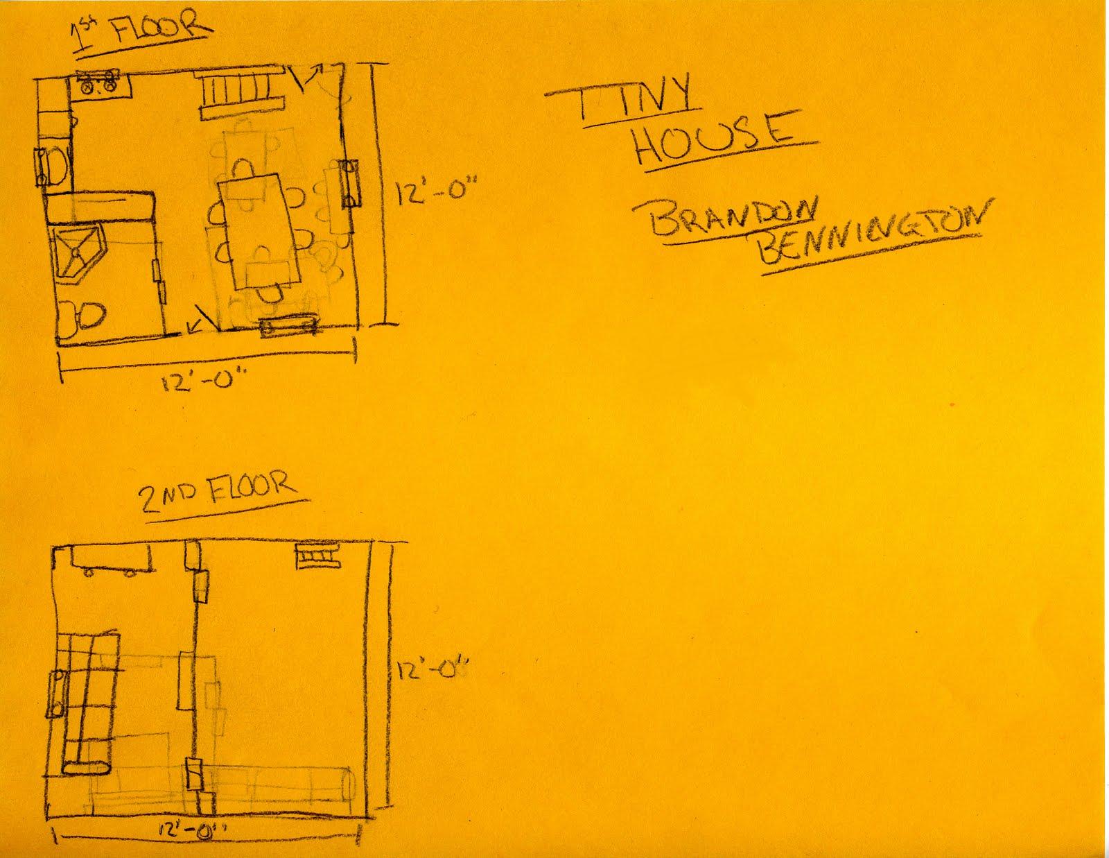 Mr R 39 S Tiny House Blog Basic Sketch For Tiny House