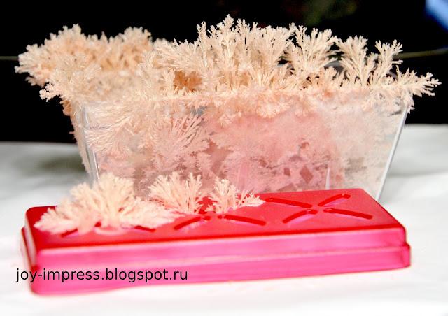 кустистые кристаллы