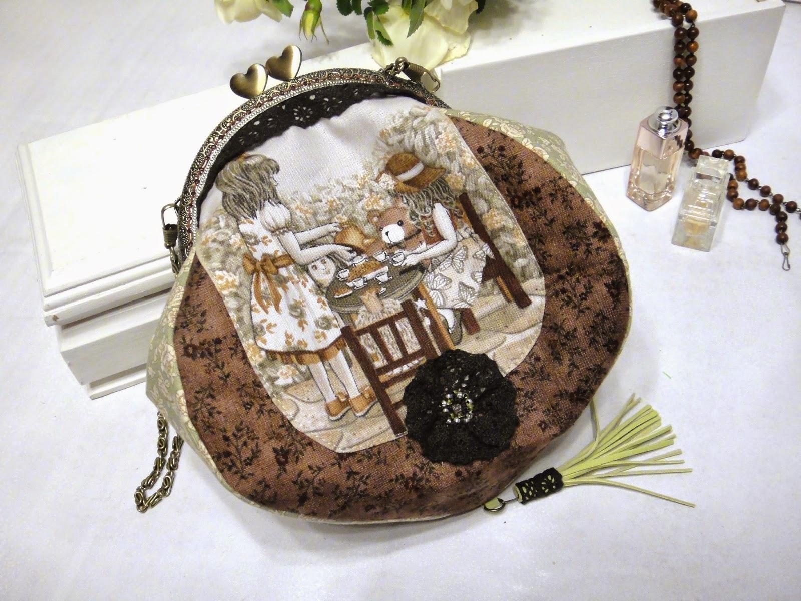летняя сумочка на цепочке