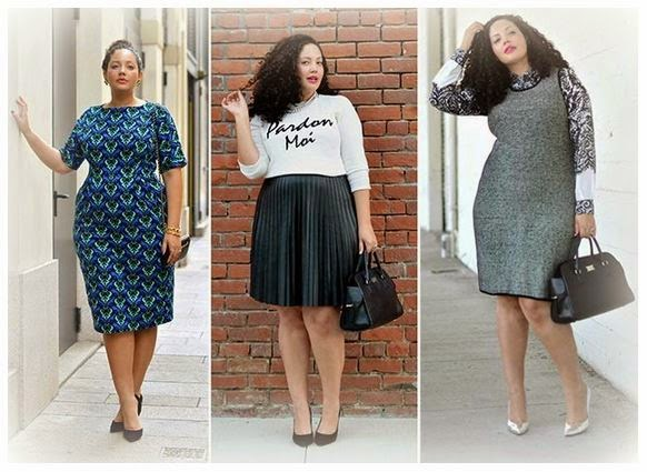 bb70306fe LookBook...  Winter Outfit ideas for Curvy Girls  1