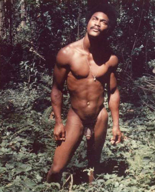 from Deandre sexy naked black men vintage