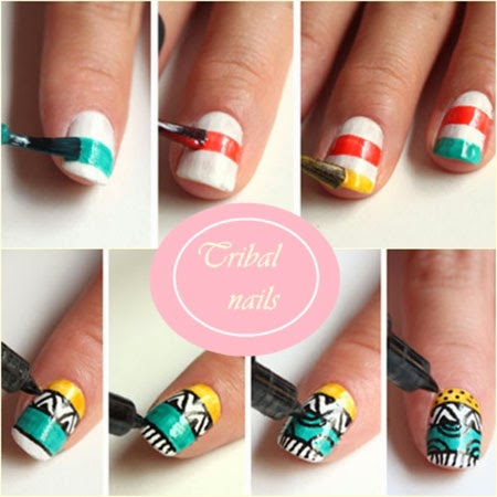 DIY Friday: Tribal Nail Arts | Beauty and Lifestyle Blog ...