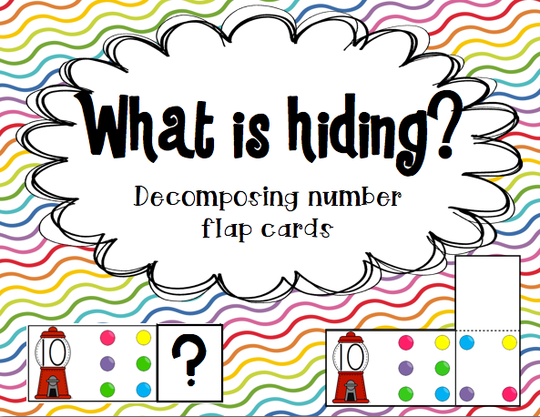 http://www.teacherspayteachers.com/Product/Decomposing-number-flap-cards-1051097