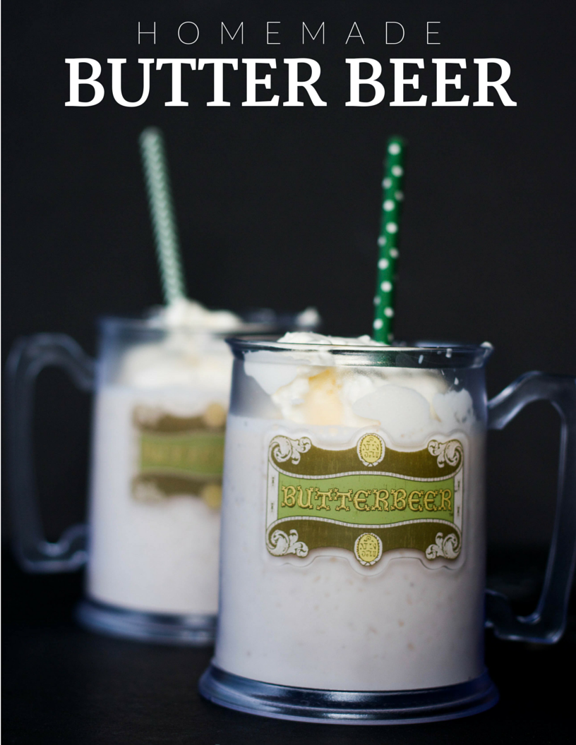 harry potter, butter beer, hogsmeade, homemade