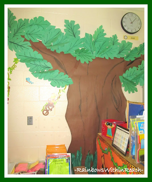 photo of: Tree Growing in the Classroom via RainbowsWithinReach