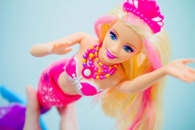 Barbie sereia de perolas