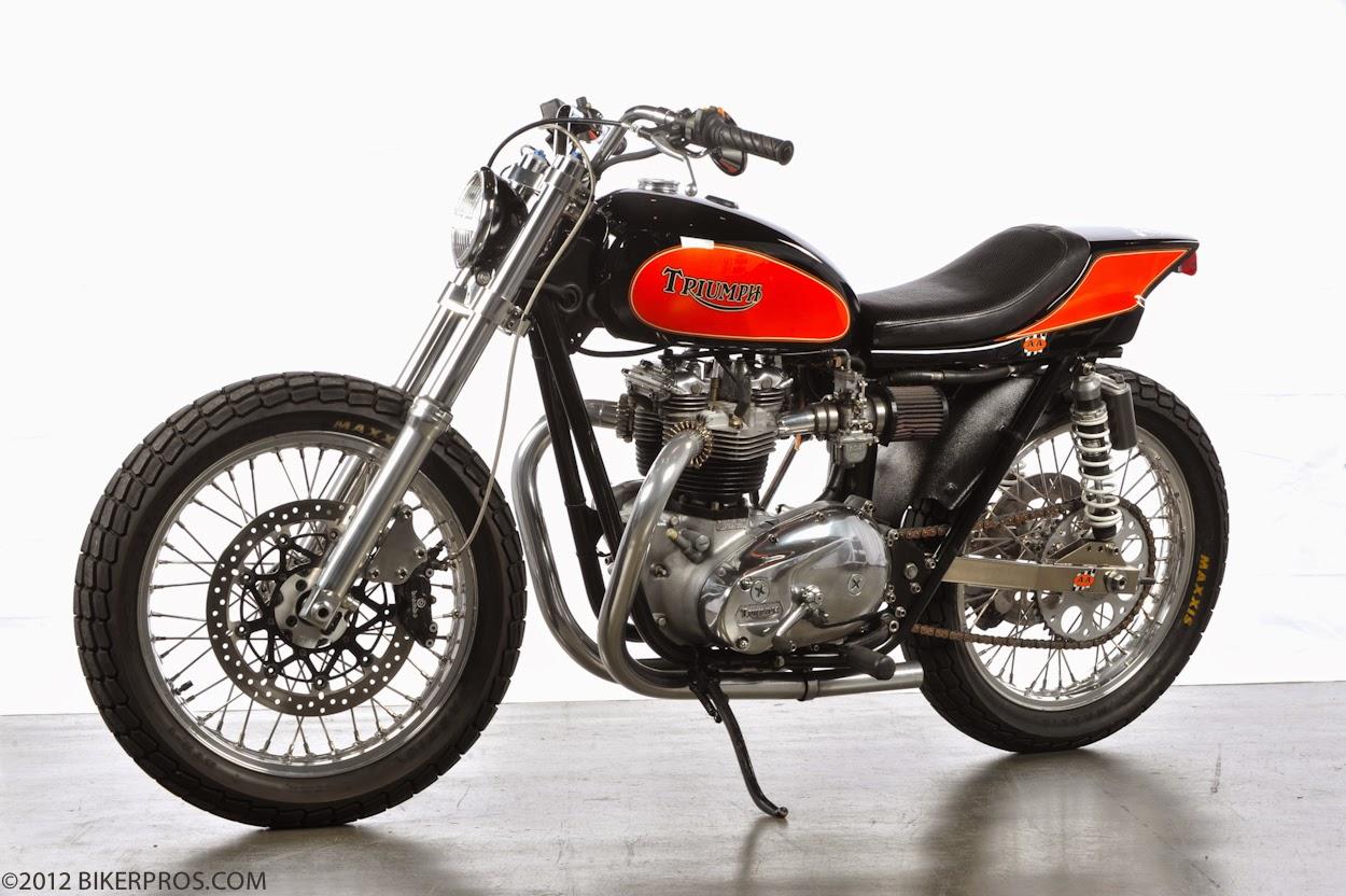 Dirt Tracker Amp Scrambler Custom Motorcycles 2 Takeyoshi