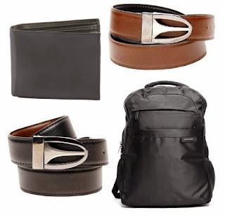 Samsung Unisex Backpack , Leather Reversible Belt With Brown Men Wallet Combo worth Rs.1999 just for Rs.799 Only