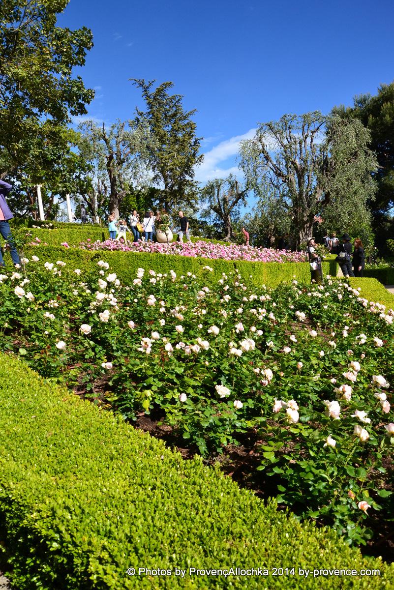 Villa de Rotshilde,fete des roses