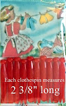 Vintage Doll Clothespins