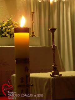 Paróquia de Almino Afonso celebra a Vigilia Pascal