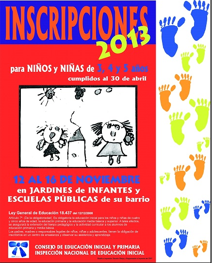 Jard n 124 ceibal salto uruguay inscripciones a o 2013 for Inscripciones jardin 2016 uruguay