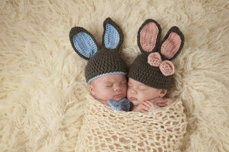 12 fotos de bebês recém nascidos (New Born) inspiradas na Páscoa