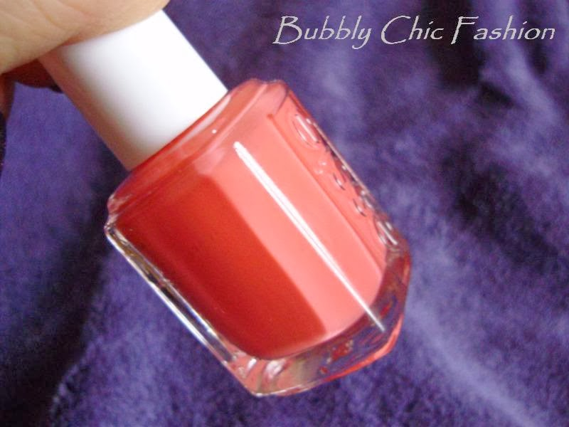 Essie carousel coral bubbly chic fashion