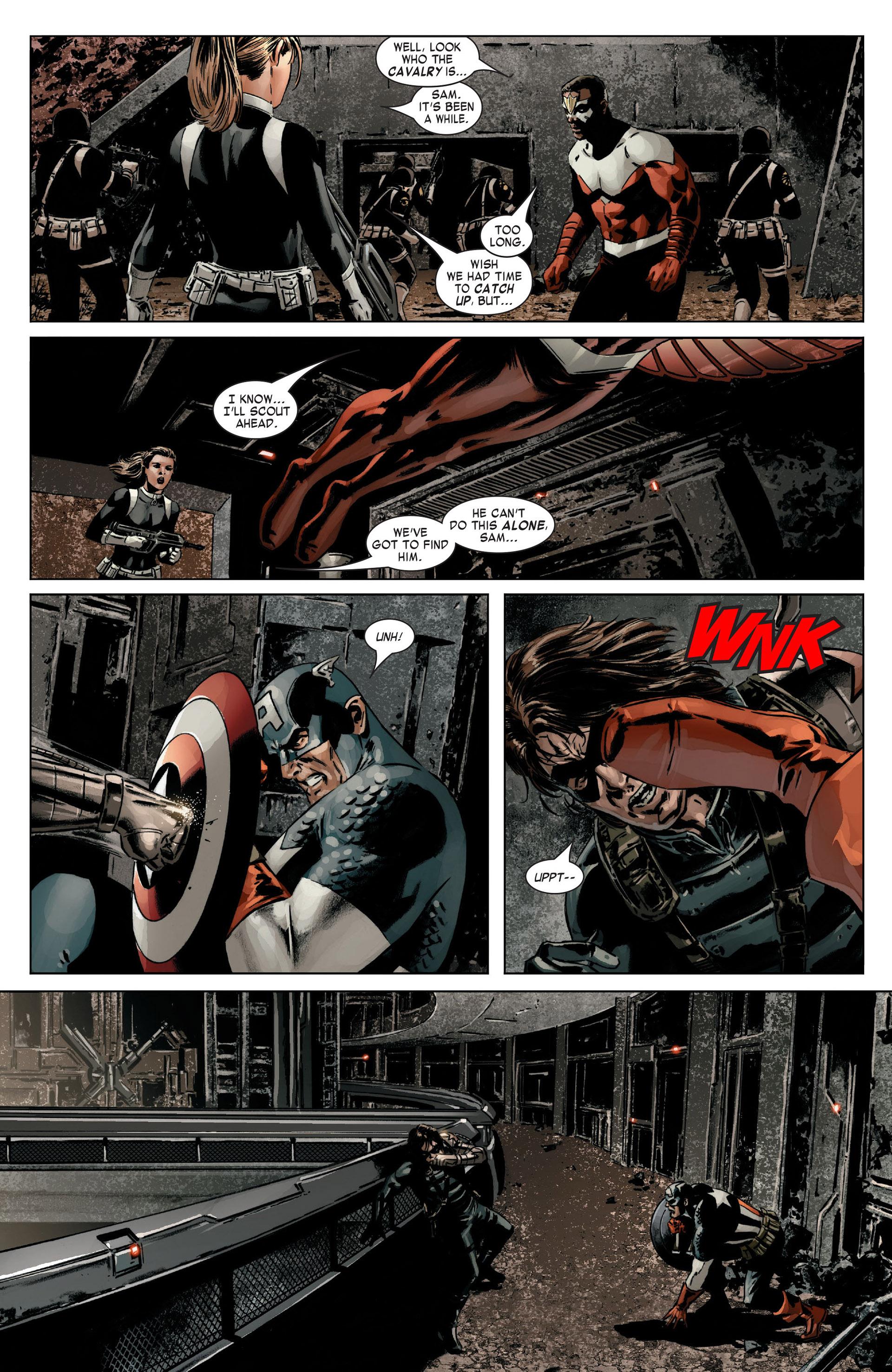 Captain America (2005) Issue #14 #14 - English 11