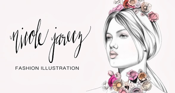Nicole Jarecz Fashion Illustration