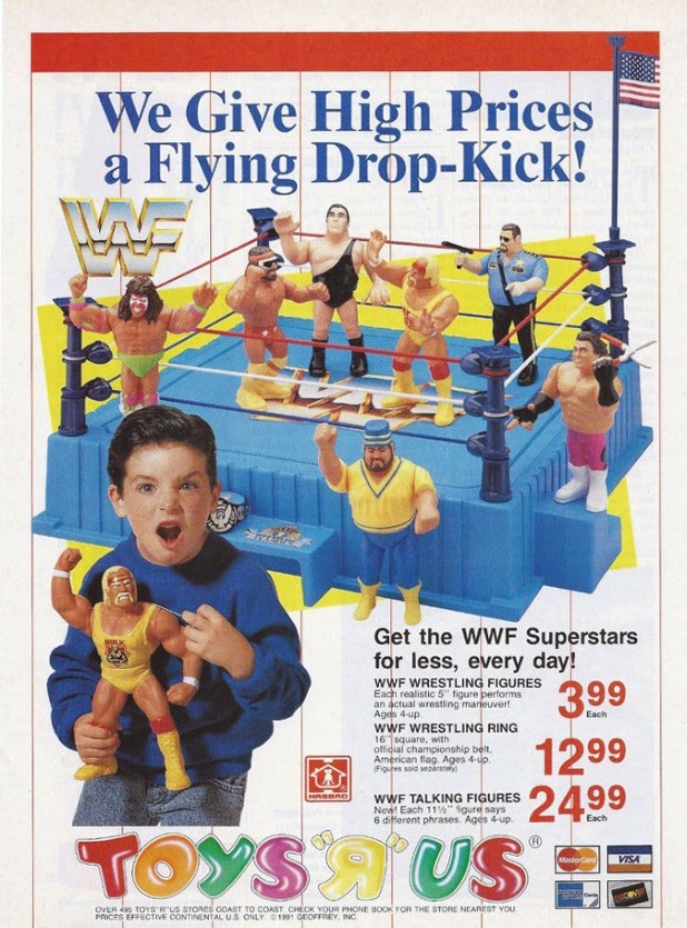 Wwe Toys For Boys Christmas : The horror movie bbq wwf hasbro happiness