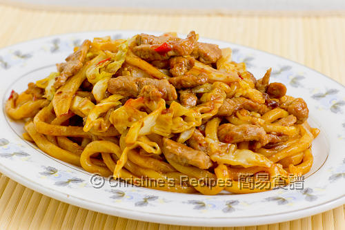 Shanghai Fried Noodles02