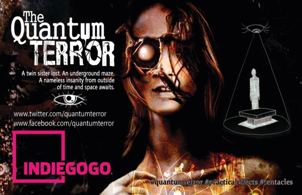 Upcoming Indie Sci-Fi/Horror Film 'The Quantum Terror' is Brining Love, Madness and Tentacles
